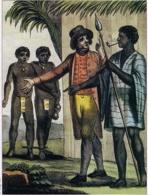 esclavage commerce triangulaire